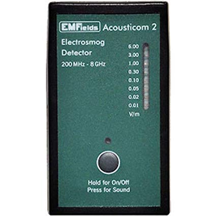 Acousticom 2 RF meter